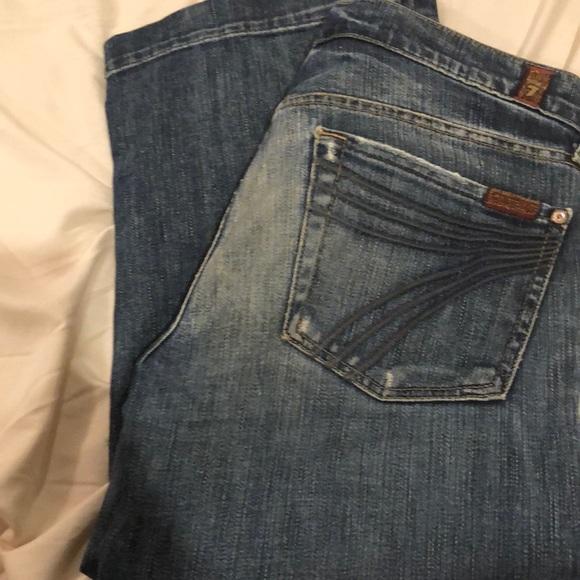 Seven 4 all Mankind cropped jeans Capri 9615ff9a9